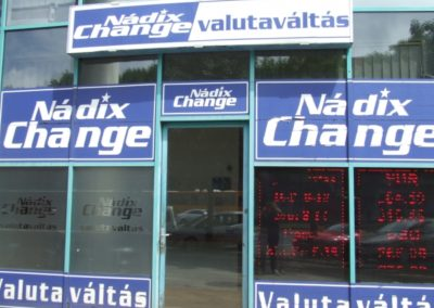 Nádix Change Valutaváltó