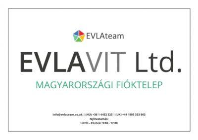 EVLAVIT LTD. Magyarországi fióktelepe