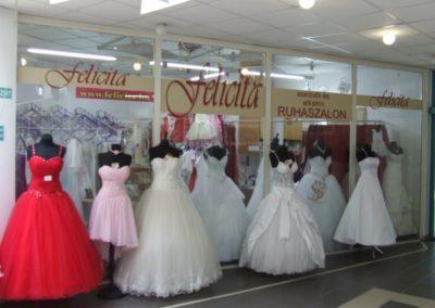 Felicita Esküvői és Alkalmi Ruhaszalon