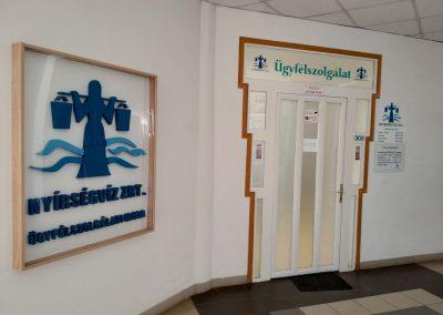 Nyírségvíz Zrt. – ügyfélközpont