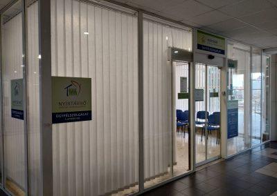 Nyírtávhő – ügyfélszolgálati iroda